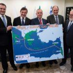 GASDOTTO EAST MED: A GENNAIO 2020 FIRMA ACCORDO TRA GRECIA, ISRAELE CIPRO
