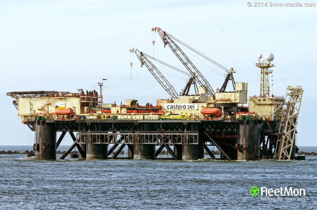 LA CASTORO SEI DI SAIPEM IN ADRIATICO PER POSARE IL TRATTO OFFSHORE DEL GASDOTTO TAP - Pipeline News -  - News