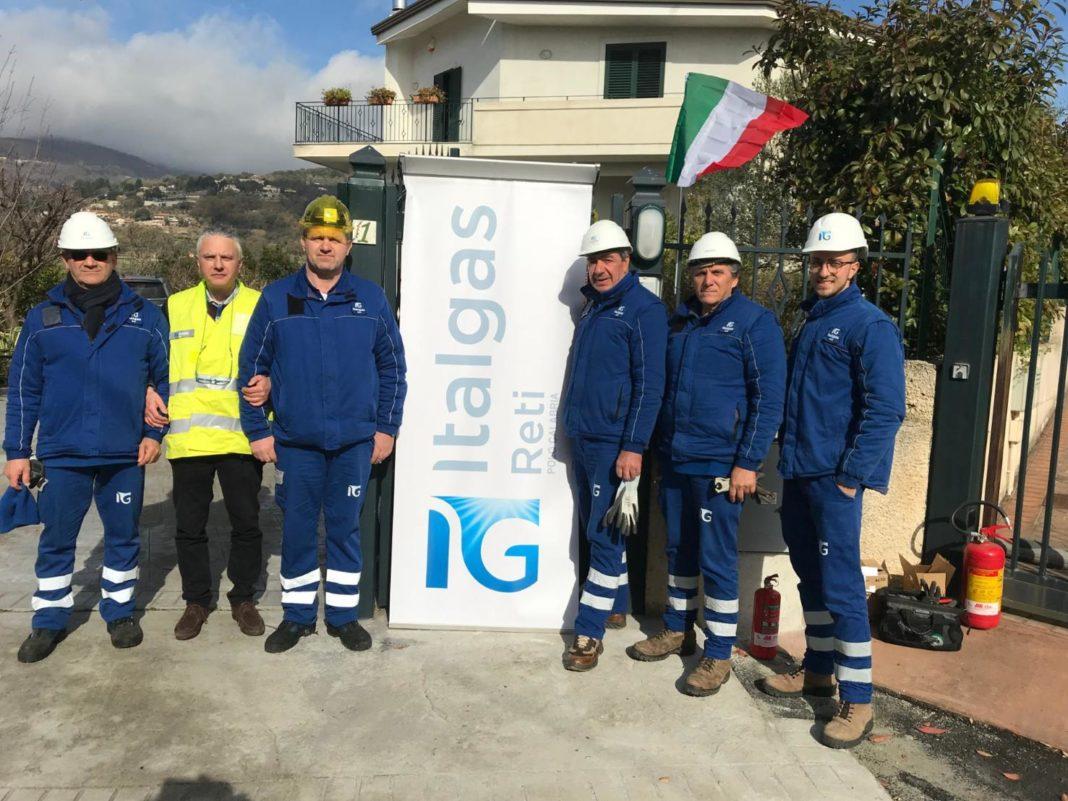 ITALGAS INAUGURA UN NUOVO TRATTO DI RETE IN CALABRIA - Pipeline News -  - News