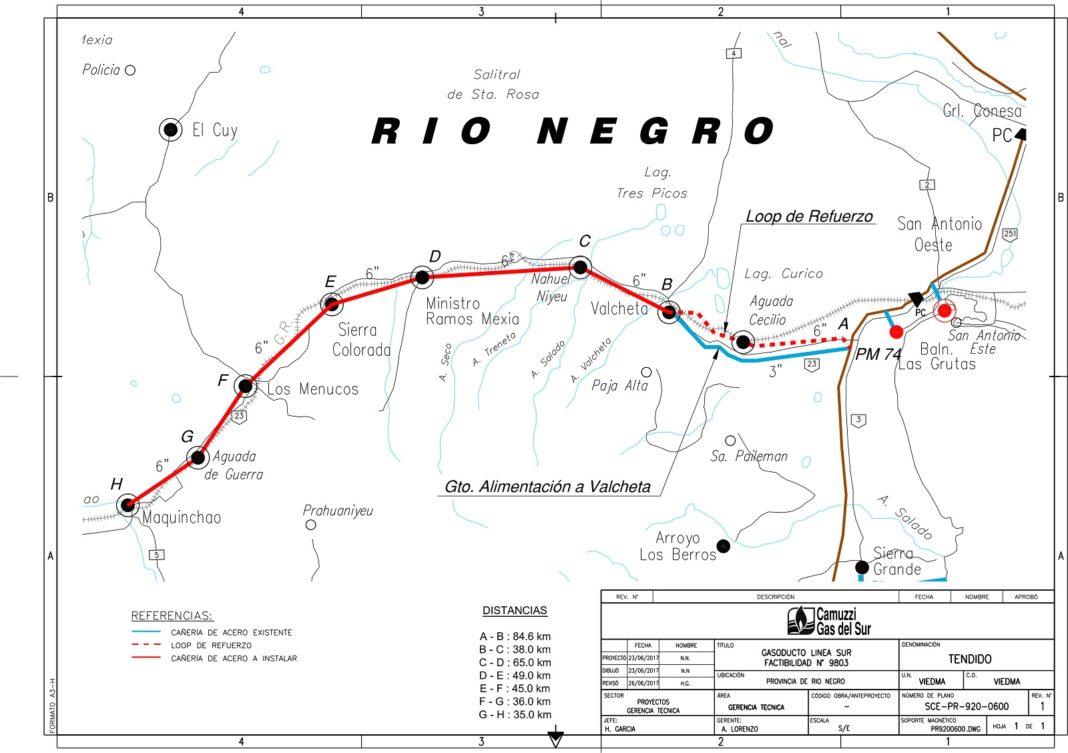 ARGENTINA: AVANZA LA COSTRUZIONE DEL NUOVO GASDOTTO DEL SUD - Pipeline News -  - News