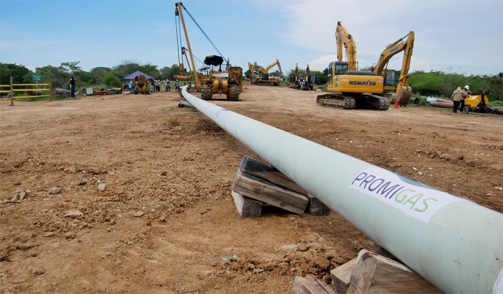 LA COLOMBIA AUMENTA L'OFFERTA DI GAS CON UN NUOVO GASDOTTO - Pipeline News -  - News