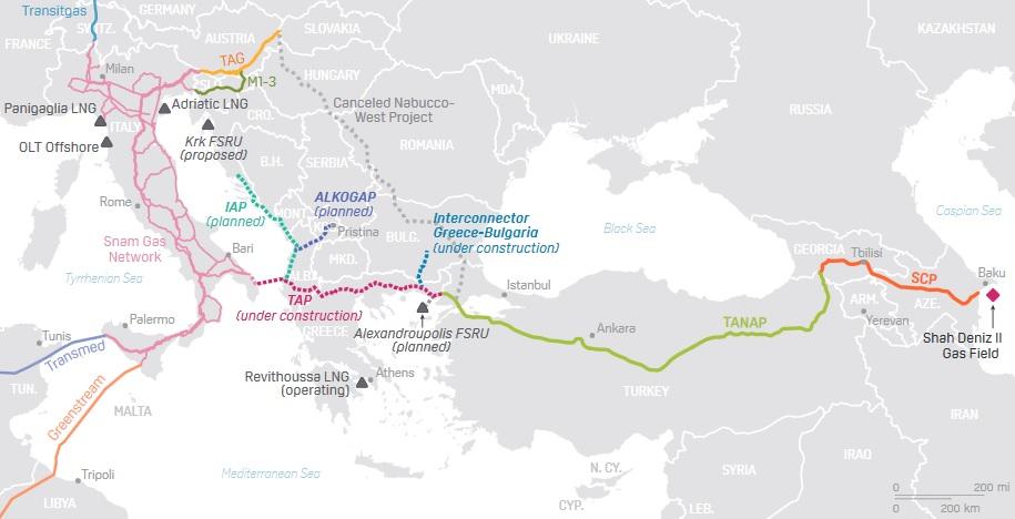 PLATTS ANALIZZA L'IMPATTO DEL TAP SUL MERCATO ITALIANO DEL GAS NATURALE - Pipeline News -  - News