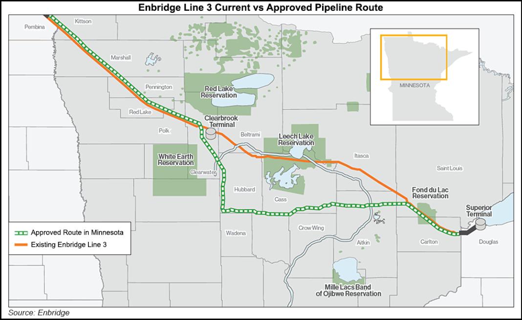 Enbridge Energy ottiene il via libera dallo stato del Minnesota per l'upgrade dell'oleodotto Line 3 - Pipeline News -  - News