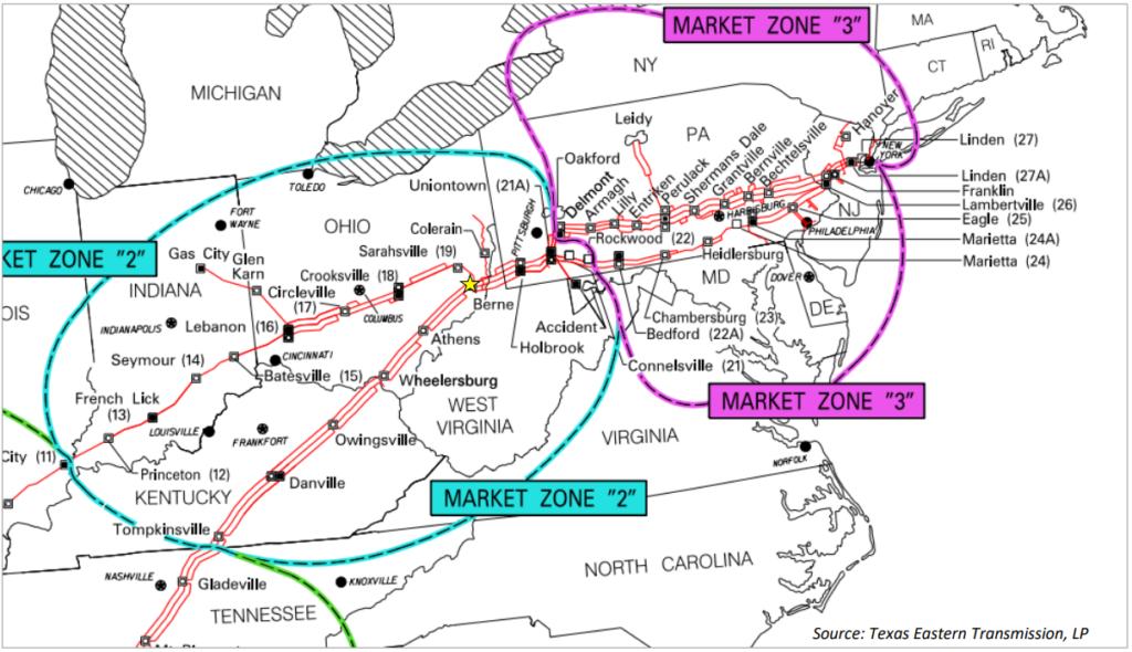 Il gasdotto TETCO ritorna in servizio al 100% della sua capacità - Pipeline News -  - News