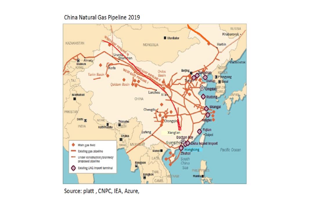 La Cina realizzerà una nuova rete di gasdotti lunga 34,2 chilometri - Pipeline News -  - News