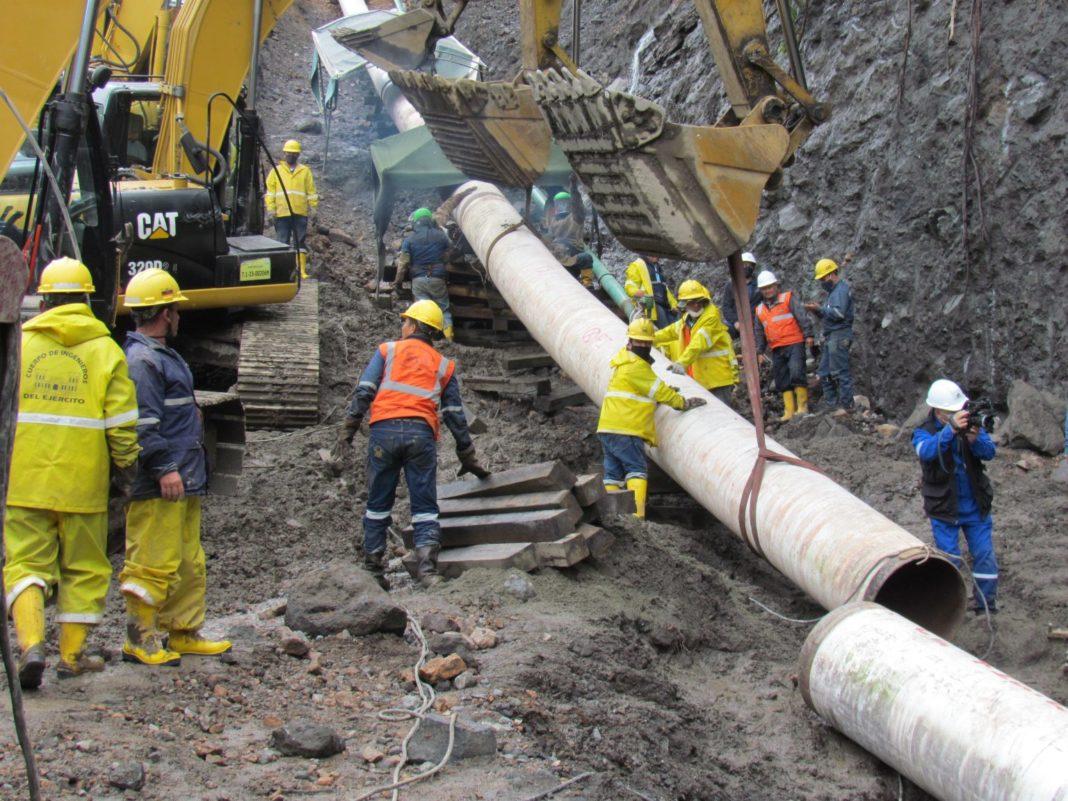 EP Petroecuador avanza con i lavori di costruzione delle varianti dell'oleodotto SOTE - Pipeline News -  - News